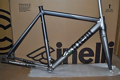 NEW Cinelli Mash Bolt Frameset RRP £724.99 Small Road Fixed Red Hook