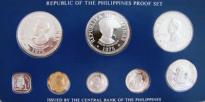 PHILIPPINES 1975 Proof Set FRANKLIN Mint