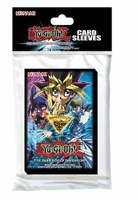 Yugioh: 50 Proteggi Cards/sleeves/bustine Protettive-The Dark Side Of Dimensions