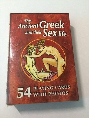 The Ancient Greek And their Sex Life Playing Cards