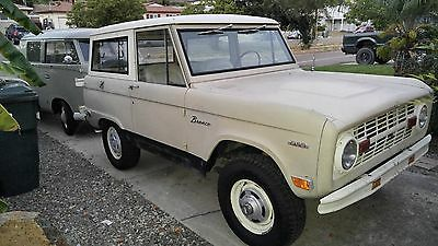 1969 Ford Bronco  1969 ford bronco, UNCUT and Original with 302
