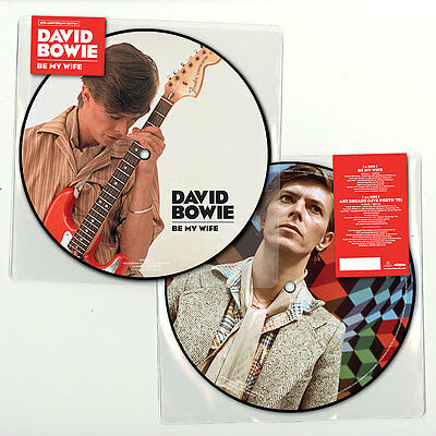 David Bowie - Be My Wife 40th Anniversary Edition PICTURE Disc 7 inch single NEW