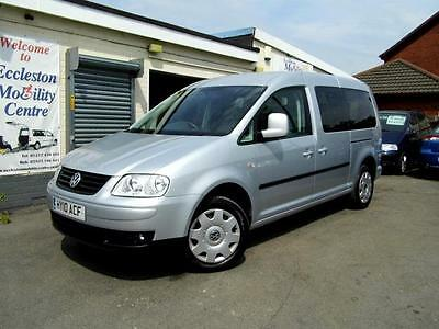 Volkswagen Caddy Maxi wav wheelchair accessible vehicle disabled access car