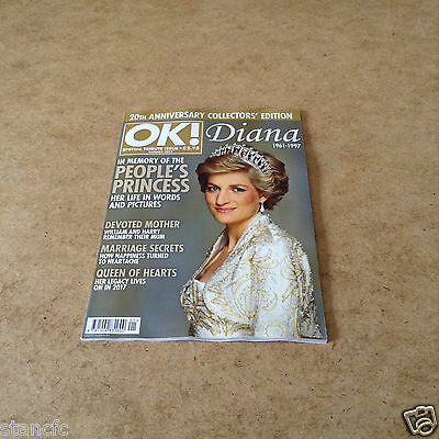 Ok Special Tribute Issue Summer 2017 Princess Diana The Peoples Princess