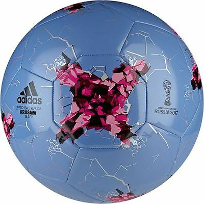 adidas AZ3190 Confederations Cup Glider Leisure ball in Size 5 blue