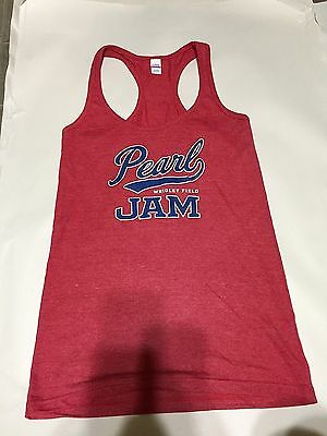 Pearl Jam Wrigley Field Tour Tank Top, Women's S