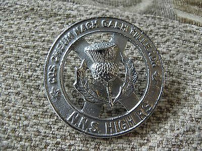 Ww 2 N.n.s.high'rs Hat Badge Repro