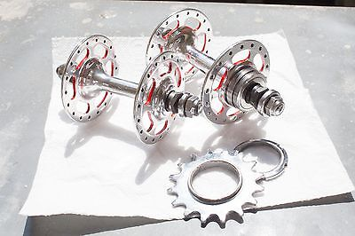 Campagnolo Record Pista Track High Flange 36H Hub set Vintage AMAZING!