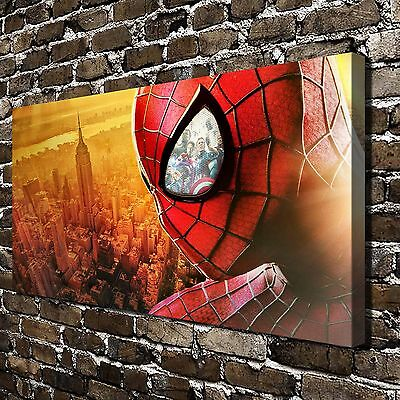 Marvel's Spider Man Paintings HD Print on Canvas Home Decor Wall Art Pictures