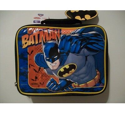 Batman Lunchbox-Lunchkit-Tote NEW Thermos Brand!!!