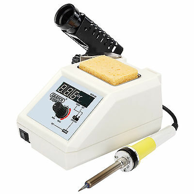 Draper Soldering Station (48W) - Overheat Protection, Adjustable Temperature