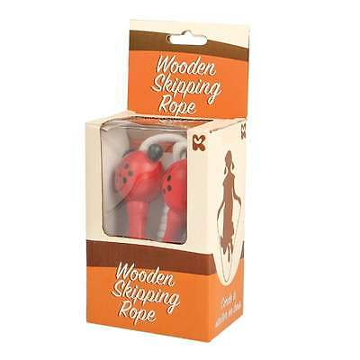 Painted Wooden Skipping Rope