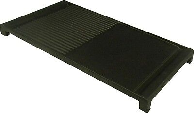 Smeg Oven Plate Gas Cook Top Grill Cast Iron Griddle Plate S009 Black BBQ - New