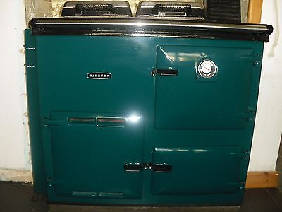 Rayburn 368K Oven oil Boiler Hot water / Heats 14 radiators at the moment