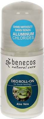 (7,98€/100ml) benecos Natural Deo Roll-On Aloe Vera 50 ml