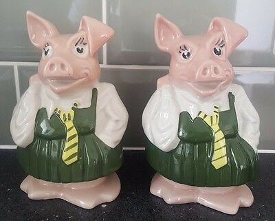 Wade Natwest Pig Girl Annabel X2 With Original Stoppers (You Get Both)