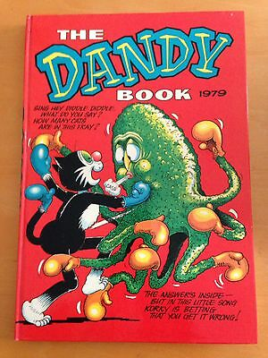 Vintage The Dandy Book (Annual) 1979 PERFECT CONDITION
