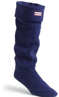 Hunter Kids Welly Socks Navy Blue