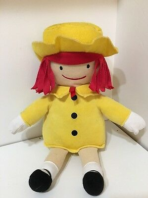 "Kohl's Cares 14"" Stuffed Plush Doll Madeline Yellow Dress 2016"