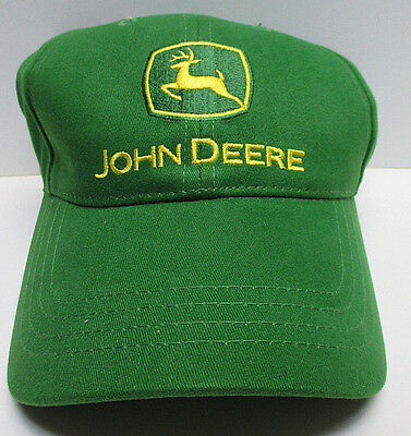 VINTAGE - JOHN DEERE ADJUSTABLE BASEBALL CAP HAT - NEW with TAG - FREE SHIPPING!