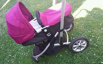 Mothercare Xpedior Travel System Single Seat Stroller