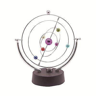 ScienceGeek Kinetic Art Asteroid - Electronic Perpetual Motion desk toy Home