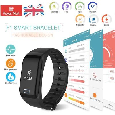 Fitness Sport Smart Watch Blood Pressure Heart Rate Monitor Activity Tracker Lot