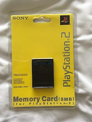 Genuine PlayStation 2 Memory Card (8mb) Brand New