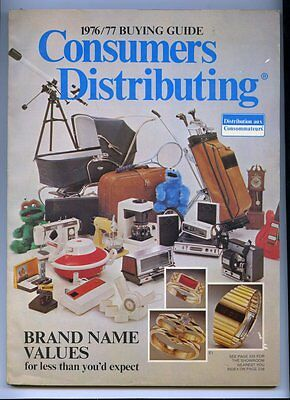 English CONSUMERS DISTRIBUTORS 1976/77 Store Catalog 242 Pages ~ CLEAN