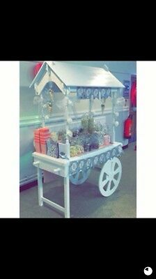 Candy Cart With Jars For Sale