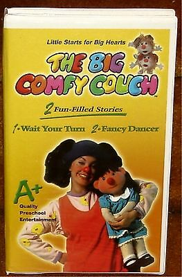 The Big Comfy Couch - Wait Your Turn / Fancy Dancer - Vhs Tape Molly Loonette