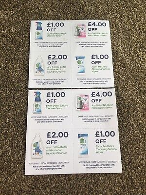 Detol No Touch Hand Laundry Clean Surface Spray £8 Money Off Coupons Vouchers