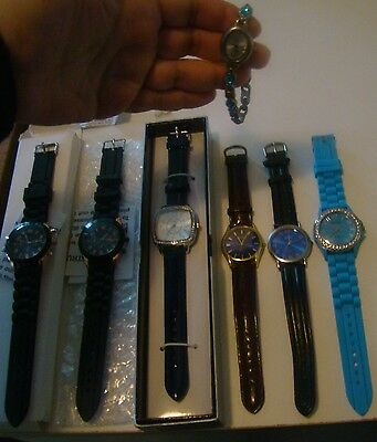 Lot Of 7 Wrist Watches