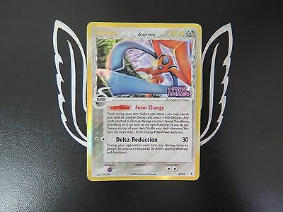 EX Holon Phatoms Deoxys Reverse Holo 4/110 Pokemon Card! Good Condition