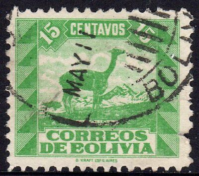 Bolivia 1939 30 Animals Used
