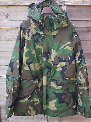 Parka Cold Weather Camouflage ECWCS Labelled Size Large Long