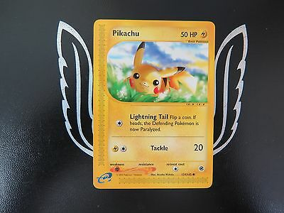 Expedition Base Set Pikachu 124/165 Pokemon Card! Mint Condition