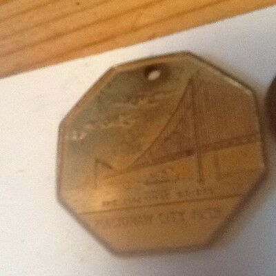 Vintage Pocket Watch Fob as shown MICH. lot 30A