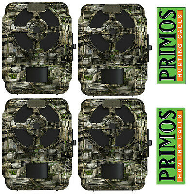 4 Pack Primos Proof Cam 03 Trail Game Camera Hunting HD Deer Blackout 12MP 63056