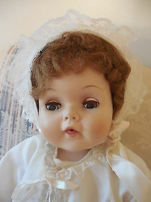"""Vintgage 1950's American Character Toodles Baby Doll with Rooted Hair 20"""""""