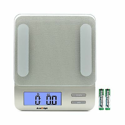 Accuweight Digital Kitchen Scale Electronic Meat Food Weight Scale 5kg/11lb New