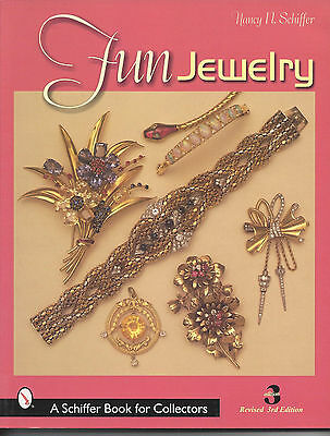FUN JEWELRY by Nancy N Schiffer, Rev 3rd Edition; A Schiffer Book for Collectors