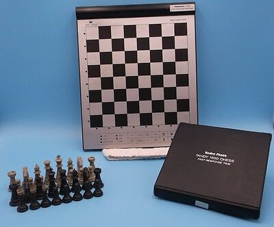 Vintage Radio Shack 1650 Computerized Chess Electronic Game 9 Levels - Complete