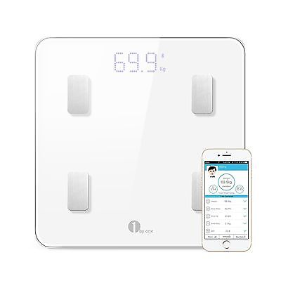 1byone Digital Smart Wireless Body Fat Scale with IOS and Android App to ... New