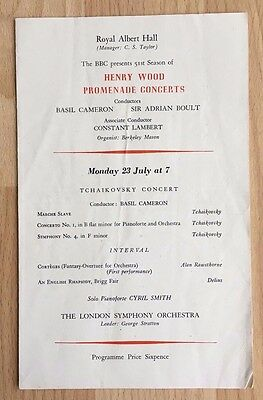Royal Albert Hall : Tchaikovsky concert