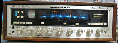 Vintage Marantz 4400 AM/FM Receiver Stereo 2 + Quadradial 4. Ships double boxed