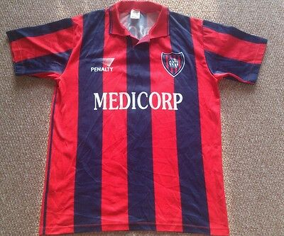 Rare San Lorenzo football shirt 1994 penalty Argentina size Large adults