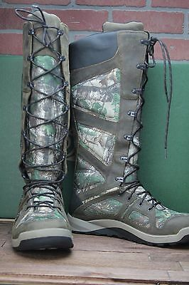 """New Mens Danner Steadfast 17"""" Snake Boots Non-Insulated Waterproof"""