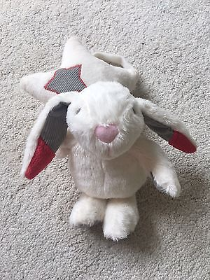 Baby Musical Bunny Star Pull Toy/ Comforter Gift BNIB By Grow and Play