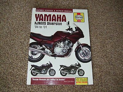 Haynes workshop manual for Yamaha XJ900S Diversion